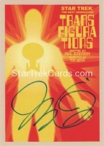Star Trek The Next Generation Portfolio Prints Series One Trading Card JOA73