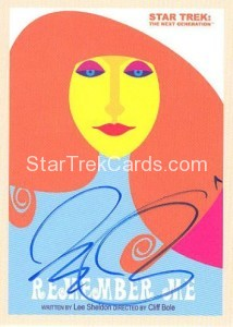 Star Trek The Next Generation Portfolio Prints Series One Trading Card JOA79