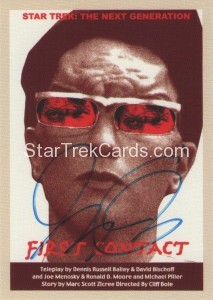 Star Trek The Next Generation Portfolio Prints Series One Trading Card JOA89