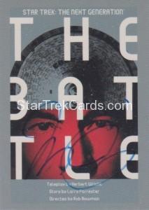Star Trek The Next Generation Portfolio Prints Series One Trading Card JOA9