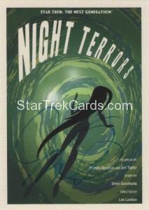 Star Trek The Next Generation Portfolio Prints Series One Trading Card JOA91