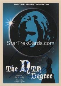Star Trek The Next Generation Portfolio Prints Series One Trading Card JOA93