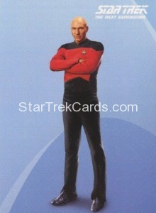 Star Trek The Next Generation Portfolio Prints Series One Trading Card P1