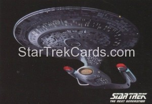 Star Trek The Next Generation Portfolio Prints Series One Trading Card P2