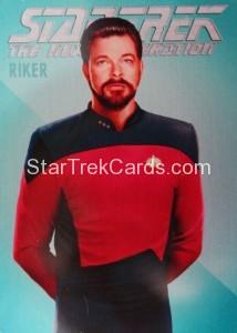 Star Trek The Next Generation Portfolio Prints Series One Trading Card R1