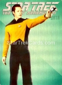Star Trek The Next Generation Portfolio Prints Series One Trading Card R5