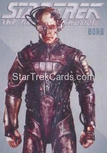 Star Trek The Next Generation Portfolio Prints Series One Trading Card R7