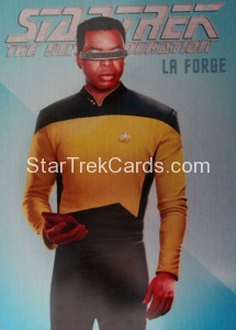 Star Trek The Next Generation Portfolio Prints Series One Trading Card R9