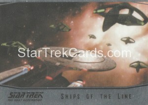 Star Trek The Next Generation Portfolio Prints Series One Trading Card SL13