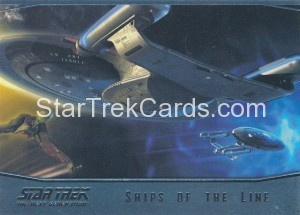 Star Trek The Next Generation Portfolio Prints Series One Trading Card SL17