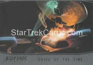 Star Trek The Next Generation Portfolio Prints Series One Trading Card SL3
