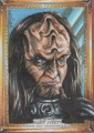 Star Trek The Next Generation Portfolio Prints Series One Trading Card Sketch Achilleas Kokkinakis