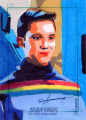 Star Trek The Next Generation Portfolio Prints Series One Trading Card Sketch Sean Anderson