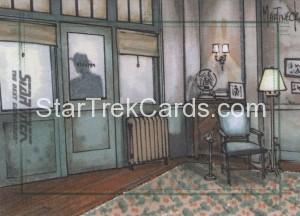 Star Trek The Next Generation Portfolio Prints Series One Trading Card Sketch Warren Martineck