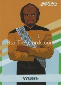 Star Trek The Next Generation Portfolio Prints Series One Trading Card U11