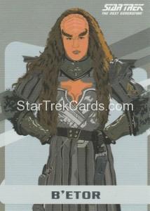 Star Trek The Next Generation Portfolio Prints Series One Trading Card U17