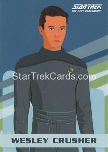 Star Trek The Next Generation Portfolio Prints Series One Trading Card U3