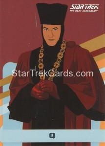 Star Trek The Next Generation Portfolio Prints Series One Trading Card U5