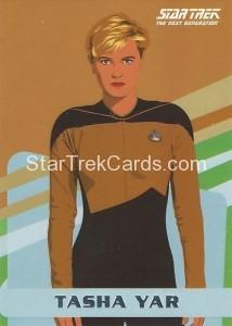 Star Trek The Next Generation Portfolio Prints Series One Trading Card U7