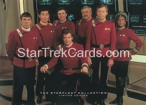 1993 The Starfleet Collection Trading Card 5