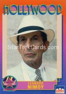 1991 Starline Hollywood Walk of Fame Trading Card 8