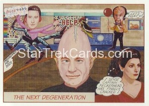 1993 Butthedz Trading Card P1