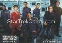 2014 Destination Star Trek London 3 Trading Card Star Trek Enterprise