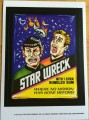 2014 Topps Wacky Packages Old School Series 5 Stickers Trading Card Star Wreck