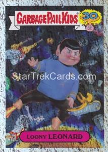 2015 Garbage Pail Kids Trading Card Loony Leonard 5A Foil