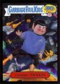 2015 Garbage Pail Kids Trading Card Trekkie Travis 5B Black