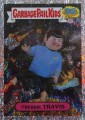 2015 Garbage Pail Kids Trading Card Trekkie Travis 5B Foil