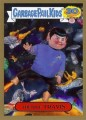 2015 Garbage Pail Kids Trading Card Trekkie Travis 5B Gold