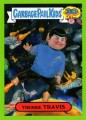 2015 Garbage Pail Kids Trading Card Trekkie Travis 5B Green