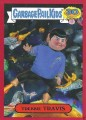 2015 Garbage Pail Kids Trading Card Trekkie Travis 5B Red