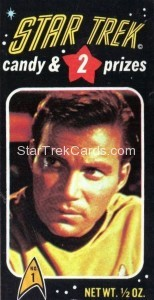 Star Trek Phoenix Candy Trading Card 1
