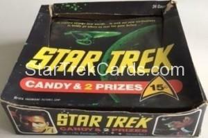 Star Trek Phoenix Candy Trading Card Box