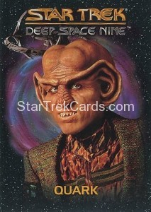 Star Trek Deep Space Nine Playmates Action Figure Cards Quark