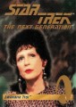 1995 Star Trek The Next Generation Playmates Action Figure Trading Card Lwaxana Troi