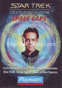 Star Trek DS9 Playmates Action Figure Space Caps Trading Card 5