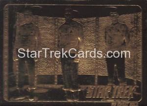 Star Trek 23 Karat Gold Cards Kirk Spock McCoy