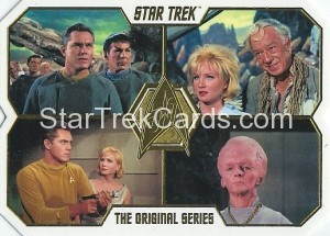 Star Trek The Original Series 50th Anniversary Trading Card 1