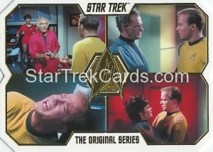 Star Trek The Original Series 50th Anniversary Trading Card 11