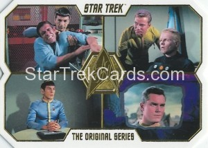 Star Trek The Original Series 50th Anniversary Trading Card 16