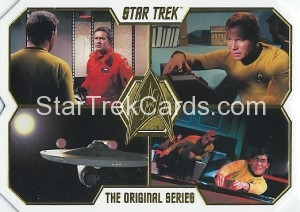 Star Trek The Original Series 50th Anniversary Trading Card 22