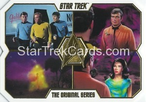 Star Trek The Original Series 50th Anniversary Trading Card 32