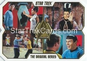 Star Trek The Original Series 50th Anniversary Trading Card 35