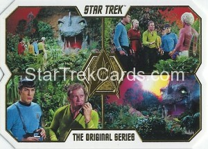 Star Trek The Original Series 50th Anniversary Trading Card 39