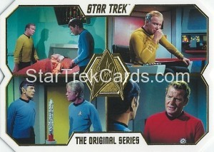 Star Trek The Original Series 50th Anniversary Trading Card 41 1