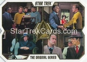 Star Trek The Original Series 50th Anniversary Trading Card 50