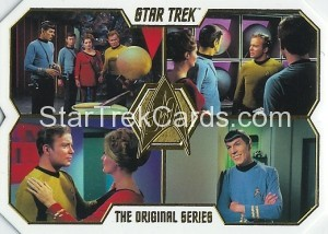 Star Trek The Original Series 50th Anniversary Trading Card 52